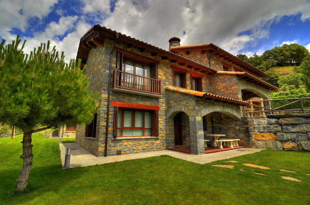 Casa rural margarita casas ordesa huesca wishrural - Casa rural de madera ...