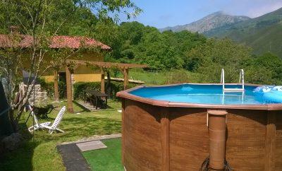 LA NOZAL (barbacoa, jardín, piscina)
