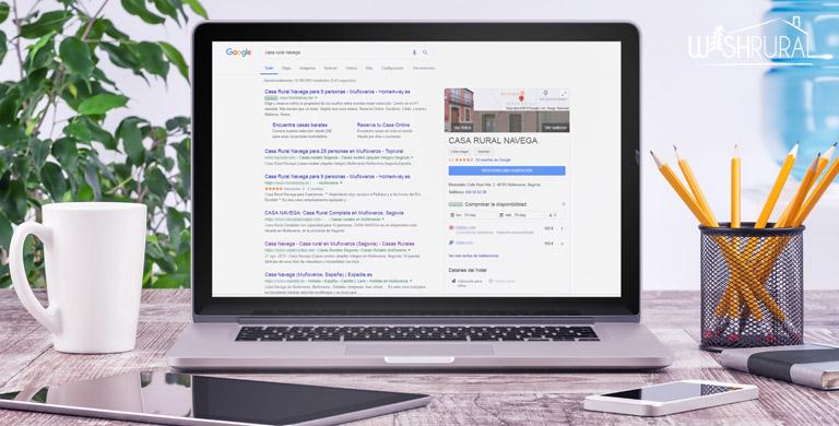 Tu alojamiento rural en Google My Businnes
